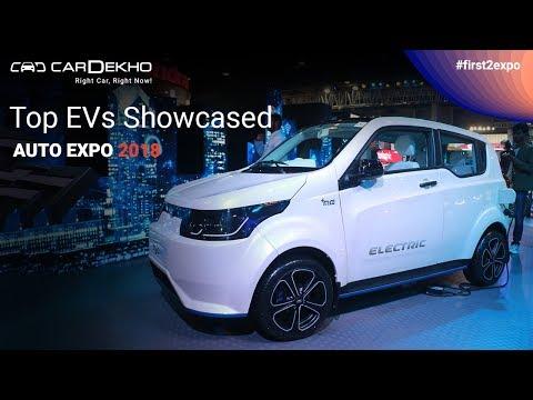 Top EVs Showcased @ Auto Expo I CarDekho.com