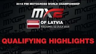 Motocross - Latvia2015 MX2 Qualifying Race Highlights