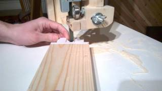 Cutting Box Joints On Bandsaw Using Paper Templates