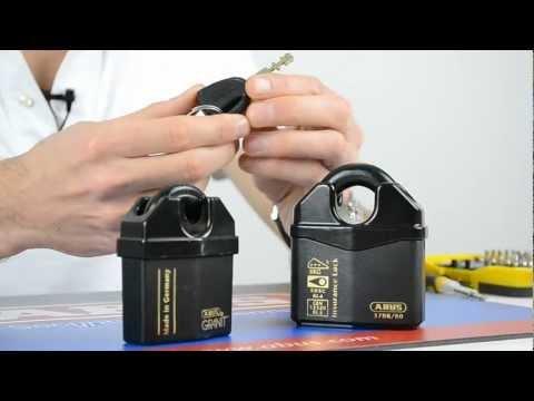 Review of the ABUS Closed Shackle Granit Plus Padlocks