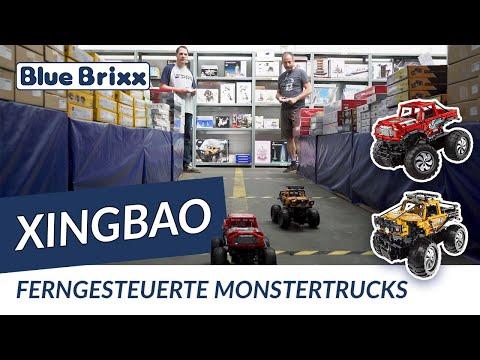 Monster Truck in rot