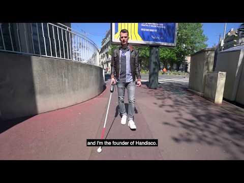 Start-up makes IoT smart stick for blind people