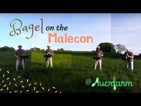 """My sax quartet arrangement of """"Bagel on the Malecon"""" by Ljova (Lev Zhurbin)."""