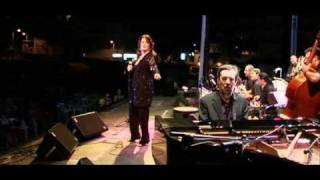 Ann Hampton Callaway with the Barcelona Jazz Orchestra at the Festival Jazz de Xabia, Spain.