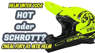 Fahrradhelm Fullface Oneal Fury Review | Helm unter 100€