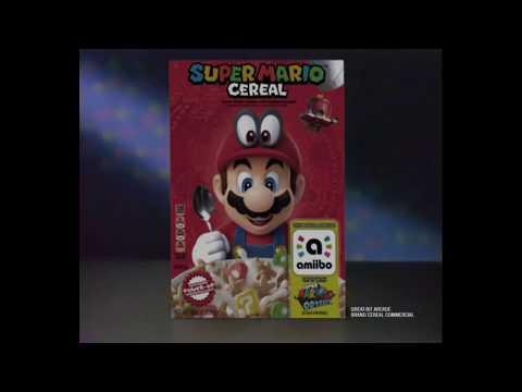 Super Mario Cereal   Nintendo Cereal Commercial