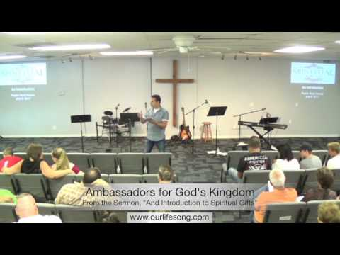 Ambassadors for God's Kingdom