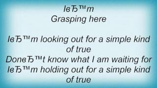 311 - Simple True Lyrics