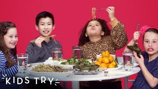 Kids Try Chinese New Year Food   Kids Try   HiHo Kids