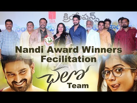 Chaloo Team Felicitates Nandi Awards Winners