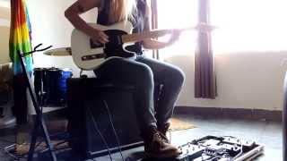 Scalene Cover Guitarra Relentless Game Far from Alaska