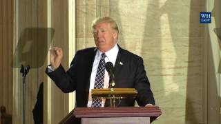 President Trump Speaks at U.S. Holocaust Memorial Museum