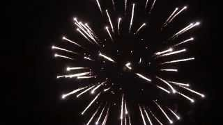 preview picture of video 'Feux d'artifice de Blandain (juillet 2014)'