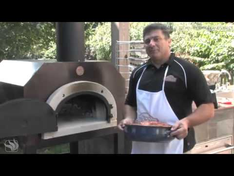 How to roast a chicken in a Chicago Brick Oven