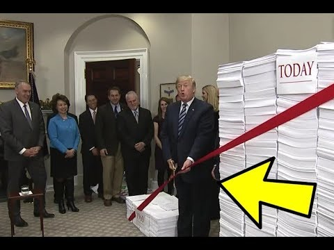 YOU will NOT believe what President Donald Trump just did Regarding Deregulations