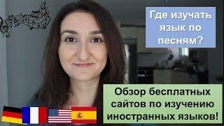 Обзор бесплатных сайтов по изучению иностранных языков: французский, английский, испанский...