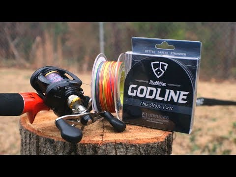 BEST NEW BRAIDED LINE on the market??? *CRAZY COLORS*