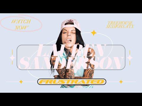 Lauren Sanderson - Frustated
