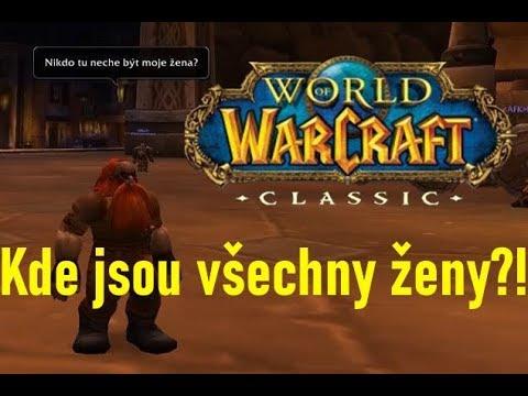 Roman Tyčka zkouší WoW Classic