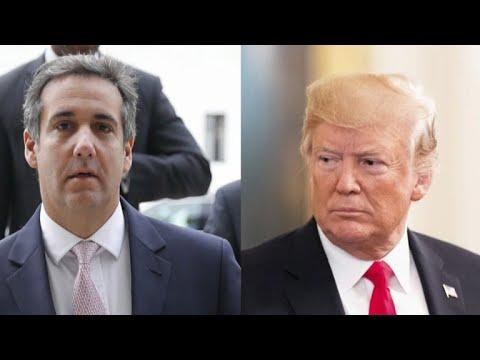 Trump denies he directed Michael Cohen to break the law