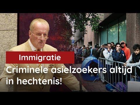 Hiddema: drie concrete oplossingen voor criminele asielzoekers