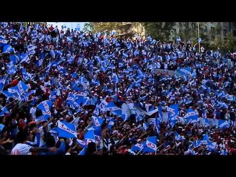 """""""LBDP vs Penadoy - CLASICO CLAUSURA 2014 - Voy a llevar, una gran damajuan de vino"""" Barra: La Banda del Parque • Club: Nacional • País: Uruguay"""