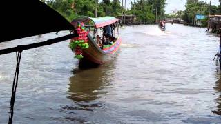 preview picture of video 'Taling chan floating Market MVI_1584.MOV'