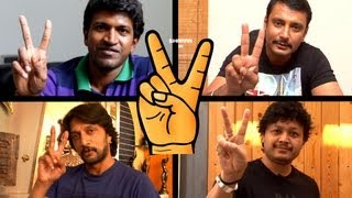 VICTORY | Khali Quater Stars Special Full HD Kannada Song | DARSHAN, PUNEETH, SUDEEP, GANESH...
