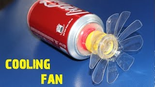 How to make a Cooling Fan using Coca-Cola Cans [DIY]