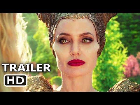 MALEFICENT 2 Trailer # 2 (NEW 2019) Angelina Jolie Movie HD