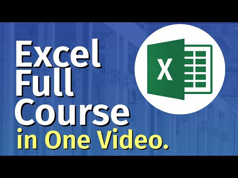 Microsoft Excel Tutorial for Beginners | Excel Training | FREE Online ...