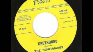The Nightmares - GreyHound ( Killer 60's Guitar Instro )