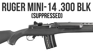 Ruger Mini-14 Tactical .300 AAC Blackout Review