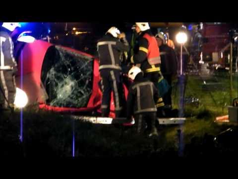 Ongeval met beknelling a73 vierlingsbeek 27-08-2010