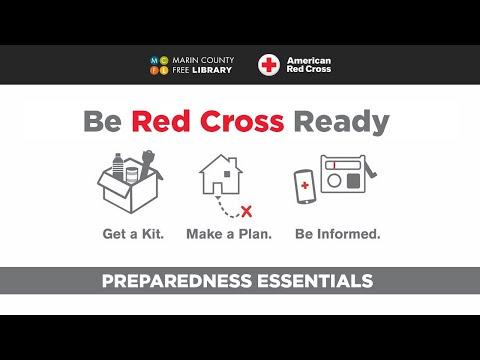 Be Red Cross Ready: A Virtual Emergency Preparedness Class ...