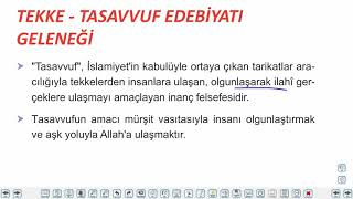 Eğitim Vadisi 10.Sınıf TDE 9.Föy Halk Edebiyatı Şiiri 2 Konu Anlatım Videoları