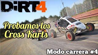 Dirt 4 - Modo carrera #4 | Corriendo en otra modalidad: Cross Karts