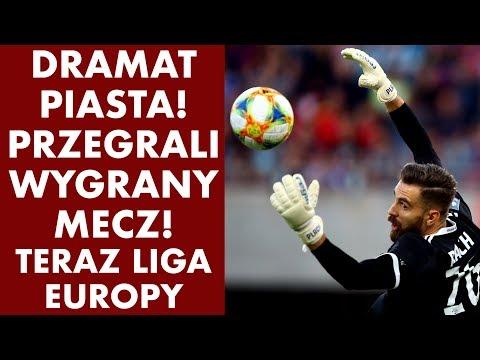 DRAMAT PIASTA! Przegrali wygrany mecz! Tylko Liga Europy