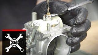 How To Rebuild The Carburetor On A Kawasaki KLR650