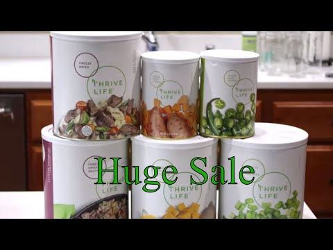 Thrive Life Sale Update With Linda's Pantry