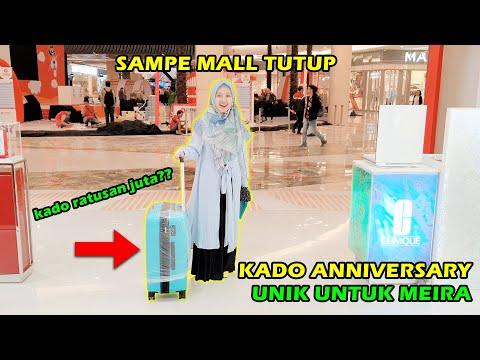 KADO ANNIVERSARY UNIK UNTUK MEIRA | SAMPE MALL TUTUP