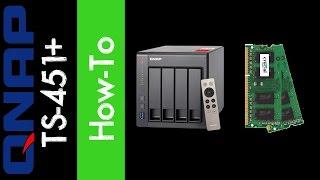 QNAP TS-451+ 4-Bay NAS - 16gb Memory Install