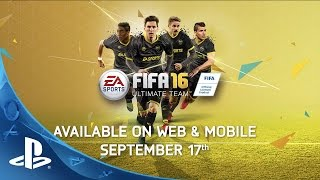 FIFA 16 UItimate Team: Fair, Fun, and Secure Experience | PS4, PS3