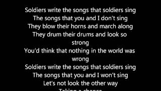 ABBA Soldiers Lyric Video