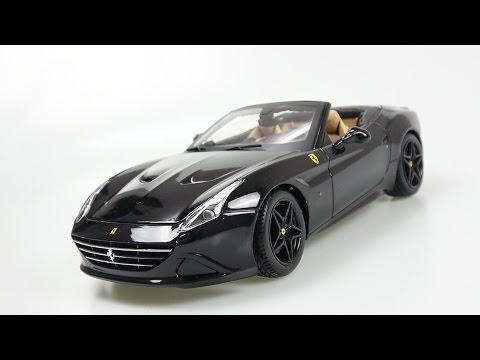 1/18 Bburago Ferrari California T (open top) review