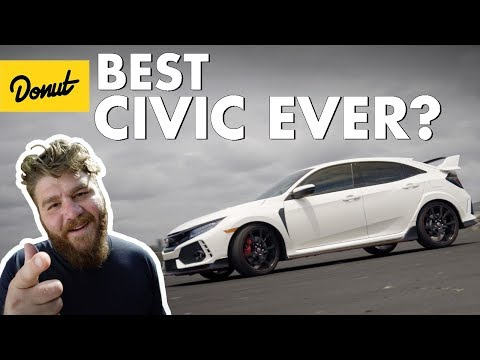 Honda Civic Type R Is Pumphrey's New Favorite Car | The New Car Show