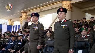 الفريق أول محمد زكى يشهد حفل انتهاء فترة الإعداد العسكرى لطلبة الكليات العسكرية