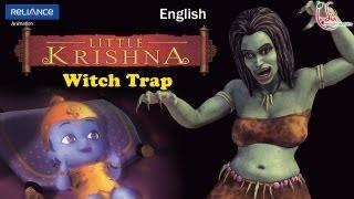 Little Krishna English   Episode 13 Witch Trap