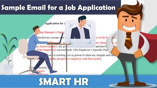 How to write a formal email for your job application | Job Application Email | Smart HR