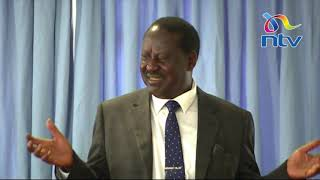 Raila: I'm a member of AFC Leopards